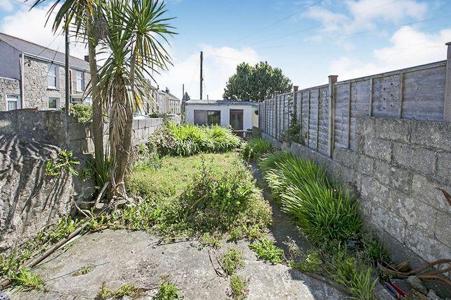 Rear Garden of Fore Street, Beacon, Camborne, Cornwall TR14