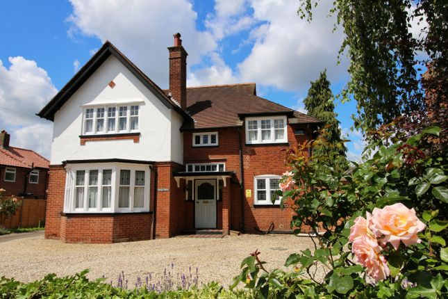 Thumbnail Detached house for sale in Hall Road, Norwich