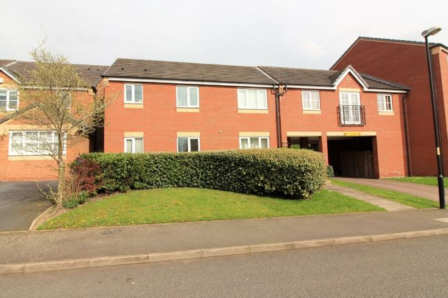 Thumbnail Flat for sale in Ampleforth Drive, Willenhall