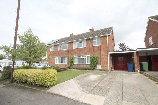 Thumbnail Semi-detached house for sale in Derwent Drive, Tewkesbury