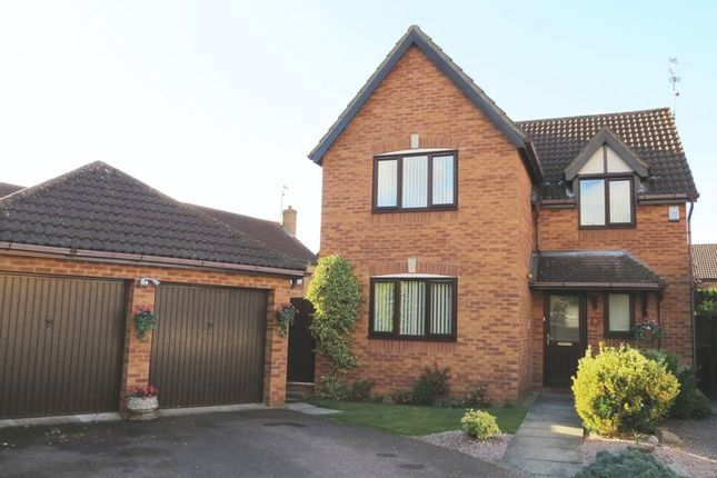 Thumbnail Detached house for sale in Lamport Close, Market Deeping, Peterborough