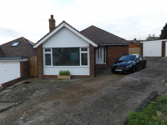 Thumbnail Bungalow for sale in The Close, Denton, Newhaven, East Sussex