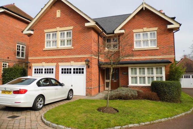 Thumbnail Detached house to rent in Woodham Gate, Woodham Park, Woking, Surrey