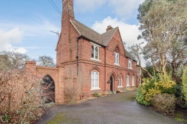 Thumbnail Detached house for sale in Rectory Road, Outwell, Wisbech