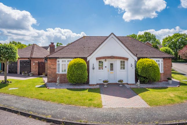Thumbnail Detached bungalow for sale in Campion Way, Leavenheath, Colchester