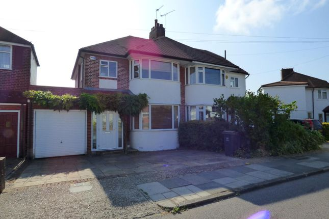 Thumbnail Semi-detached house to rent in Fairview Drive, Farnborough, Orpington