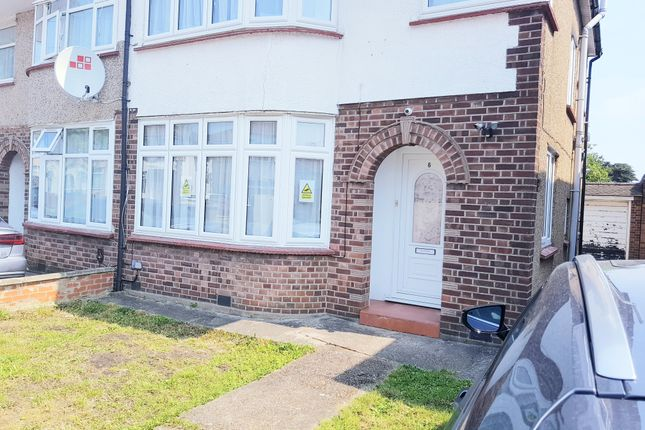 Thumbnail Semi-detached house to rent in Bellamy Drive, Stanmore