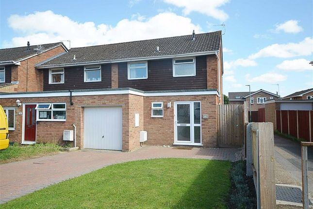 Thumbnail End terrace house for sale in Castle Hill Drive, Brockworth, Gloucester