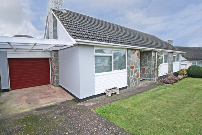 Thumbnail Detached bungalow to rent in Elm Grove Gardens, Topsham, Exeter