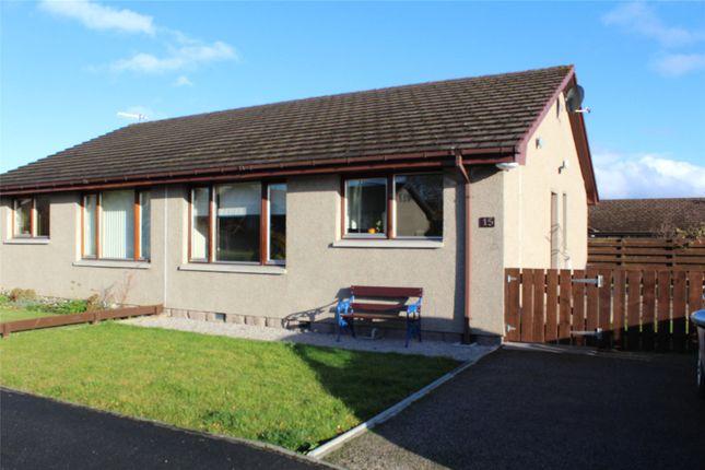 Thumbnail Semi-detached bungalow to rent in Dunnydeer Park, Insch, Aberdeenshire