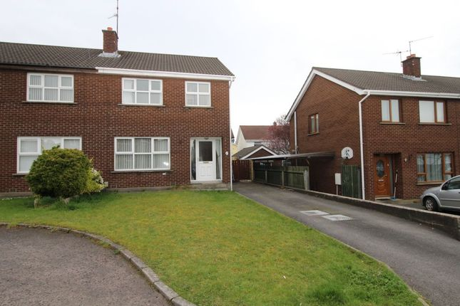 Thumbnail Semi-detached house to rent in Adlon Gardens, Lisburn