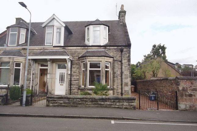 Thumbnail Semi-detached house for sale in Queen Street, Alloa