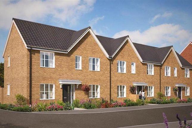 Thumbnail End terrace house for sale in Great Melton Road, Hethersett, Norwich