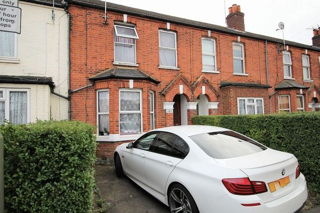 Thumbnail Terraced house to rent in Walton Road, Woking