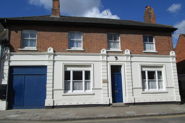 Thumbnail End terrace house to rent in High Street, Hungerford