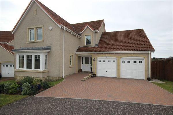 Thumbnail Detached house for sale in Rowan Lane, Leven, Fife