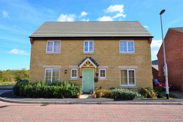 Thumbnail Detached house for sale in Mayfly Road, Dragonfly Meadows, Northampton
