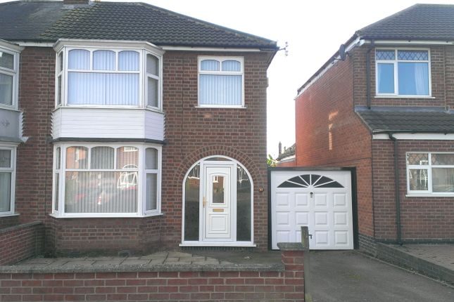 Thumbnail Semi-detached house to rent in Turnbull Drive, Leicester