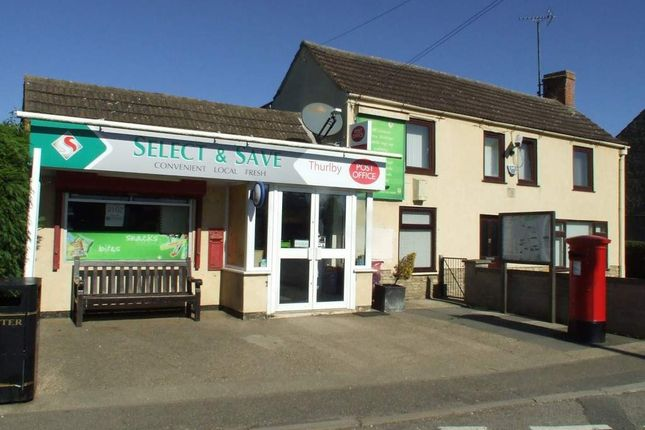 Thumbnail Retail premises for sale in The Green, Thurlby, Bourne