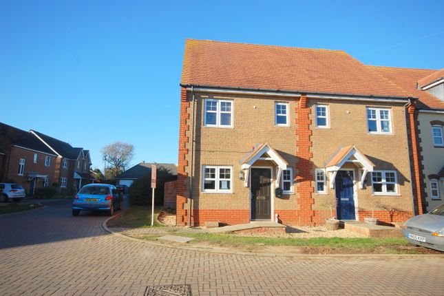 Thumbnail Semi-detached house for sale in Hunnisett Close, Selsey
