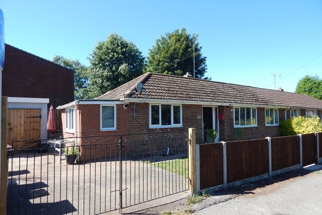 Thumbnail Semi-detached bungalow for sale in Castle Street, Brownhills