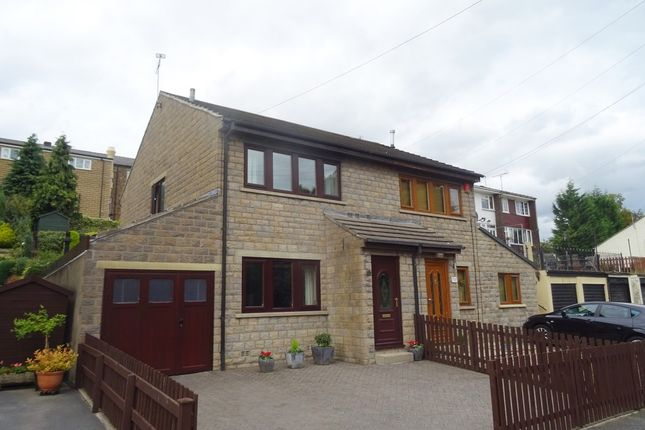 Thumbnail Semi-detached house to rent in Sunnybank, Denby Dale, Huddersfield