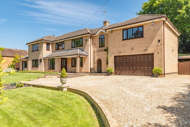 Thumbnail Detached house for sale in Old Rectory Drive, Thornhaugh, Peterborough