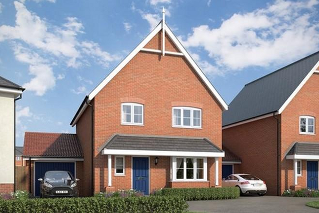 Thumbnail Detached house for sale in The Turnstone At Countryside At Chesterwell, Mile End, Colchester, Essex