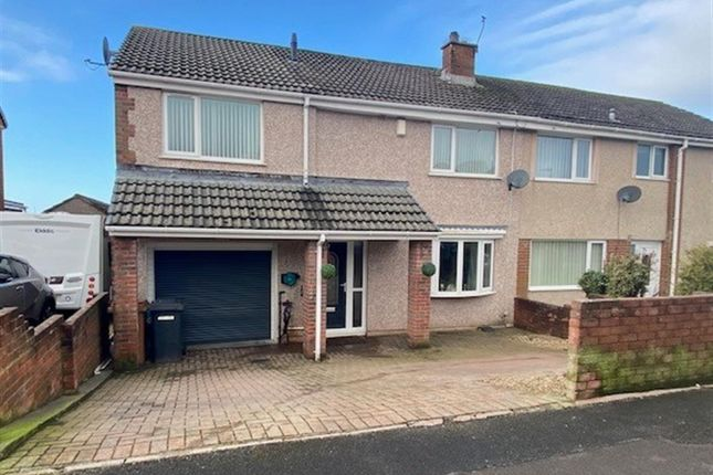 4 bed semi-detached house for sale in Cross Lane, Whitehaven CA28