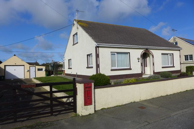 Thumbnail Detached bungalow for sale in Church Road, Roch, Haverfordwest