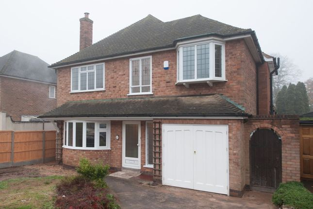 Thumbnail Detached house for sale in West View Road, Sutton Coldfield