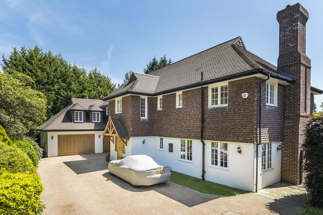 Thumbnail Detached house to rent in Claremont Drive, Esher