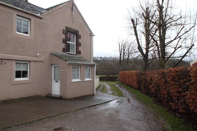 Thumbnail Semi-detached house to rent in Low Seaton, Seaton, Workington