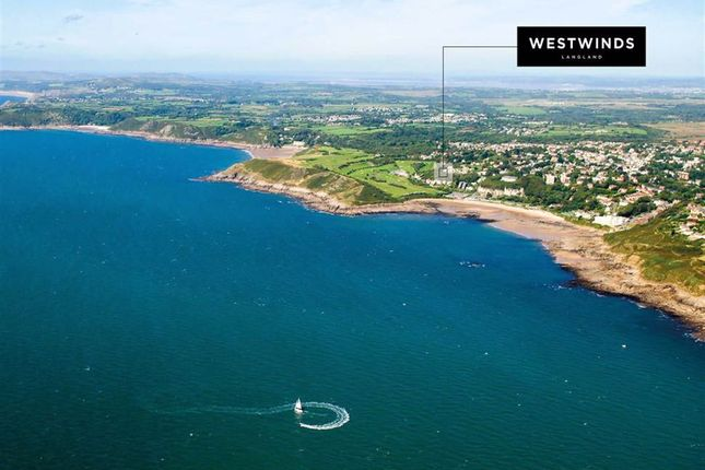 Thumbnail Detached house for sale in Westwinds, Langland Bay, Swansea