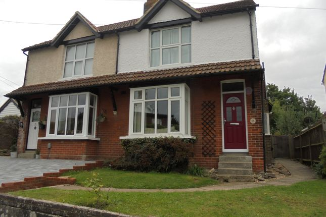 2 bed semi-detached house to rent in Burton Road, Kennington, Ashford, Kent
