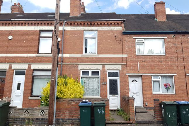 Thumbnail Terraced house for sale in Monks Road, Coventry