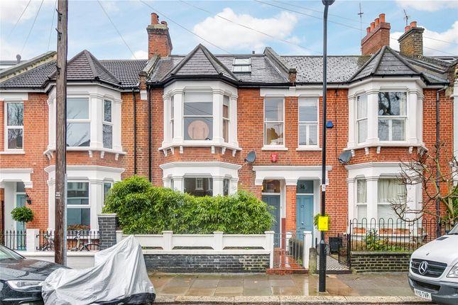 Thumbnail Terraced house for sale in Newton Avenue, London