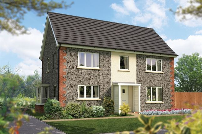 Thumbnail Detached house for sale in Amesbury Road, Londhedge, Salisbury