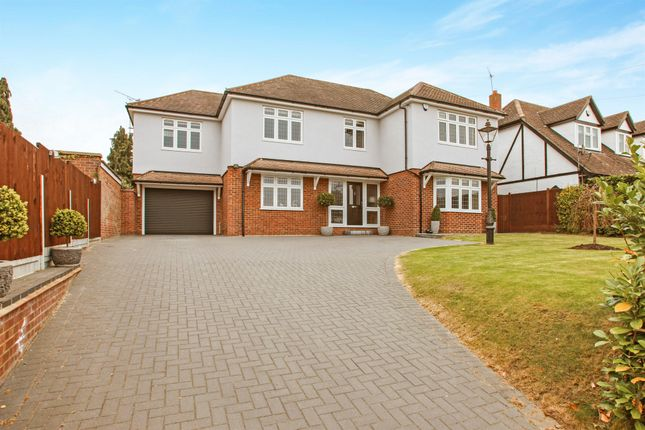 Thumbnail Detached house for sale in Roxwell Road, Chelmsford