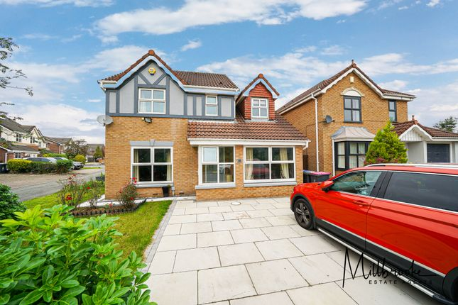 Thumbnail Detached house to rent in Amberhill Way, Manchester