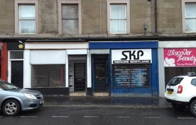 Retail premises to let in King Street, Dundee