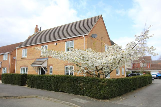 Detached house for sale in Larch Close, Ruskington, Sleaford