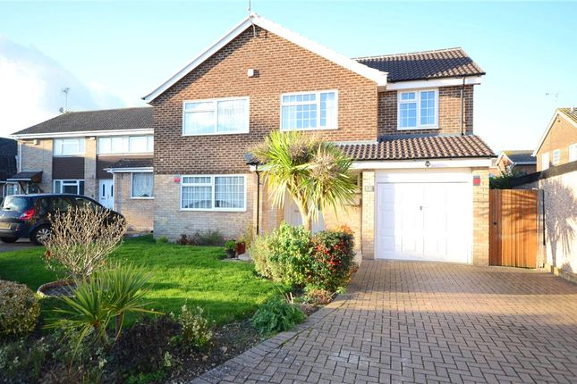 Thumbnail Detached house for sale in Kingsdown Close, Earley, Reading