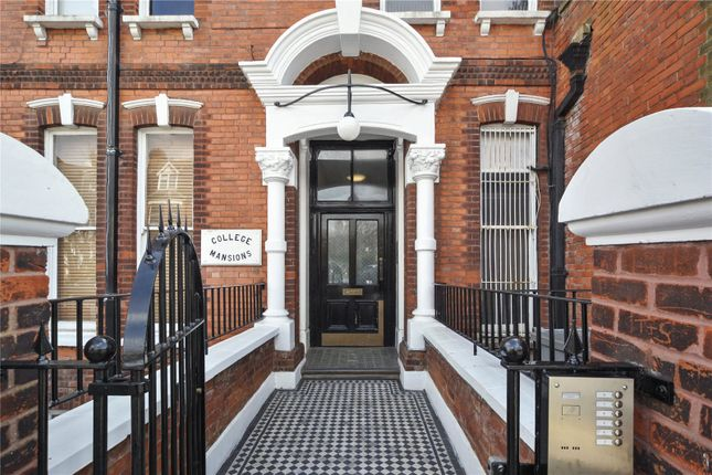 Thumbnail Flat for sale in College Mansions, Winchester Avenue, London