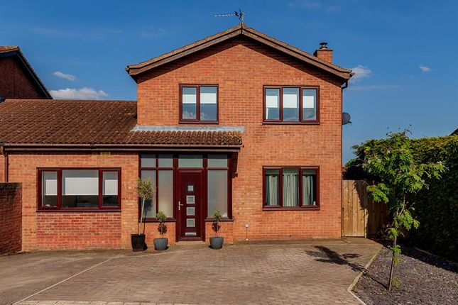 Thumbnail Link-detached house for sale in Berkeley Close, Ross-On-Wye