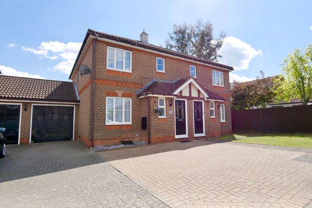 Thumbnail Semi-detached house for sale in Serpentine Close, Stevenage