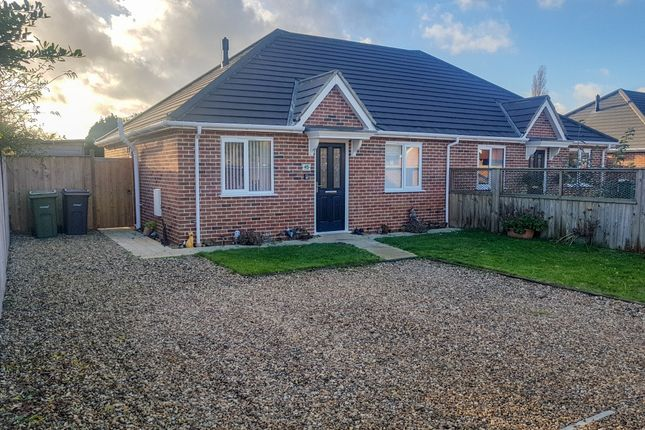 Thumbnail Semi-detached bungalow for sale in Loddon Road, Ditchingham, Bungay