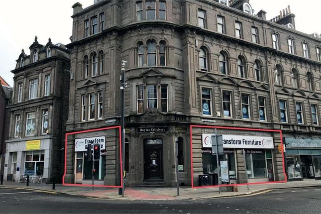 Thumbnail Retail premises for sale in 97-99 Commercial Street, Dundee