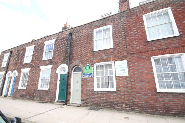 Thumbnail Terraced house to rent in Wincheap, Canterbury