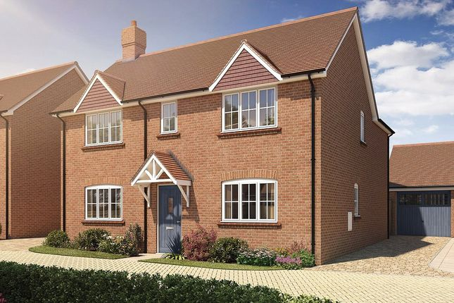 Thumbnail Detached house for sale in Oak Tree Close, Farnham Road, Odiham, Hampshire